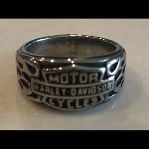 Harley Davidson Mens Ring